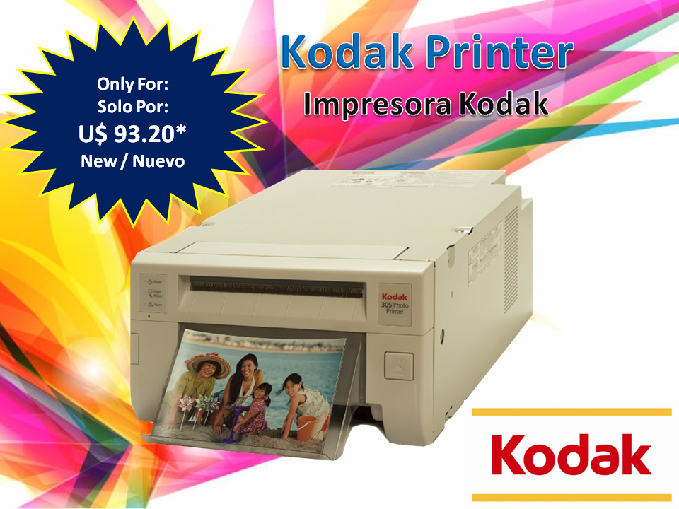 Kodak 305 Printer