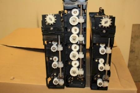 Mini photo lab gears