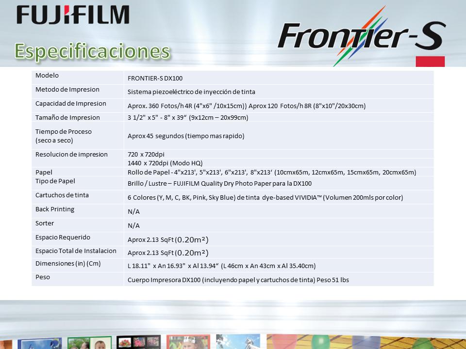 Fuji Frontier Minilab Portatil