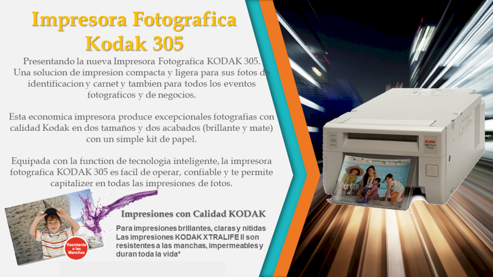 Impresora Kodak 305