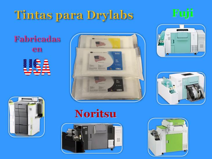 Tintas para Drylabs
