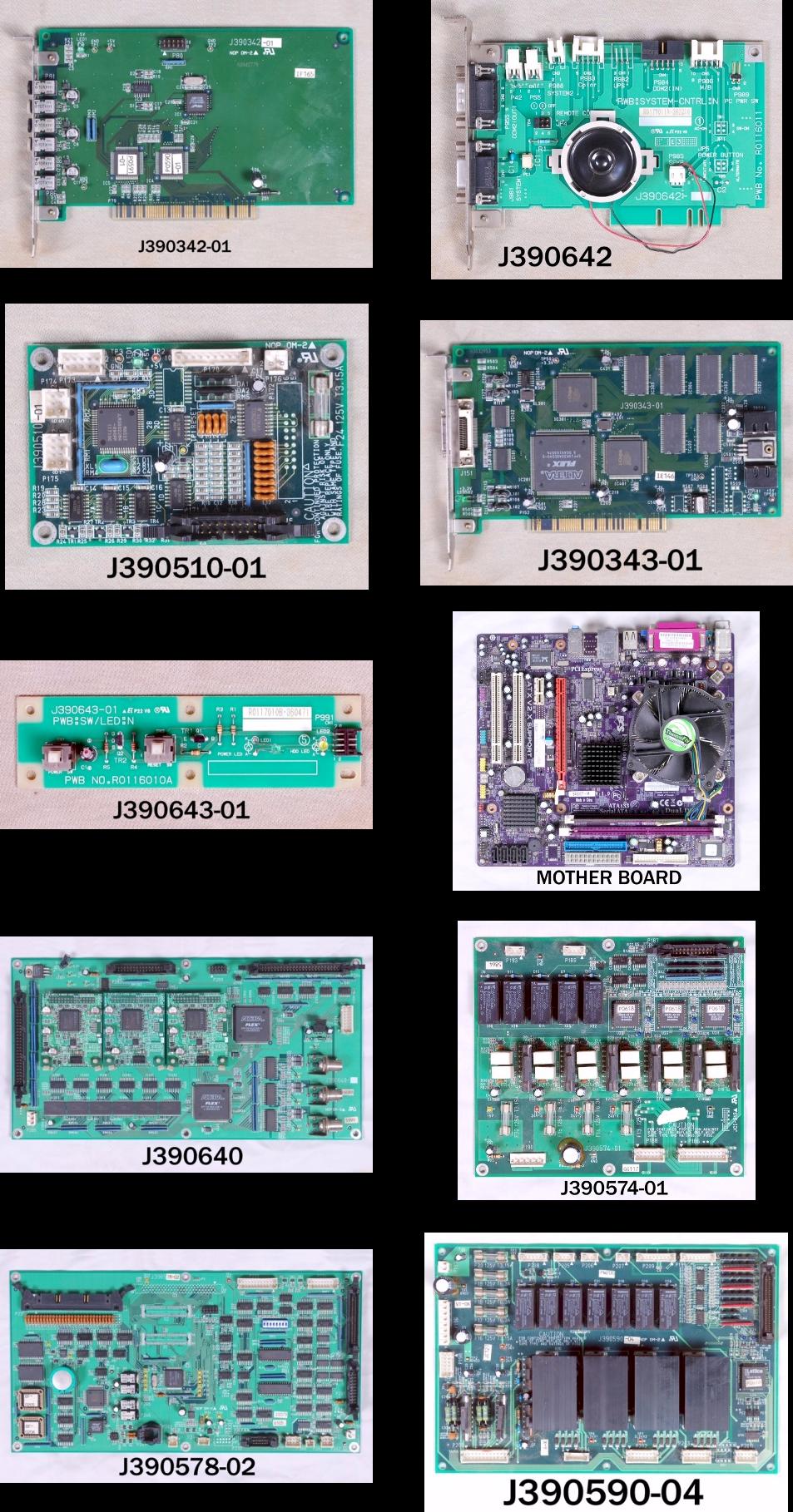 Noritsu 3001/3011 Parts