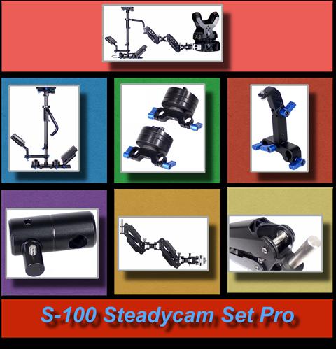 S-100 Steadycam Set Pro