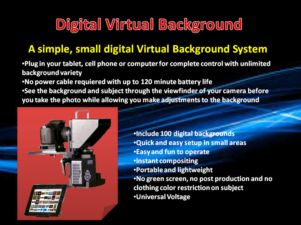 Digital Virtual Background