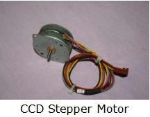 CCD stepper motot
