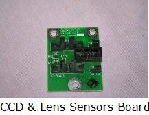 CCD & Lens sensor board
