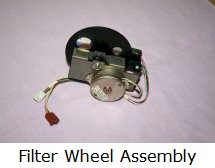 Filter wheel assembly
