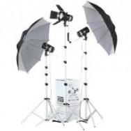 ECONOMIC STUDIO LIGHT KIT