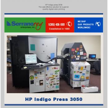 HP INDIGO PRESS 3050