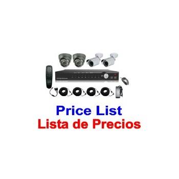 CCTV Price List