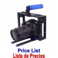 Lista de Precios para los Accesorios de Camaras Profesionales