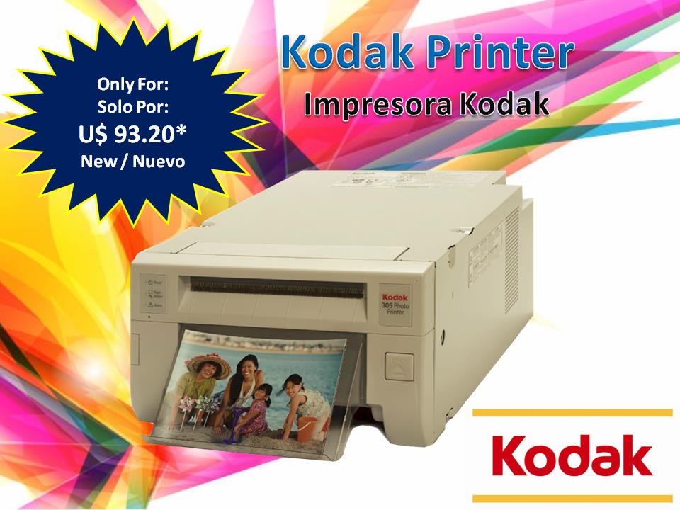 Kodak 305 Printer