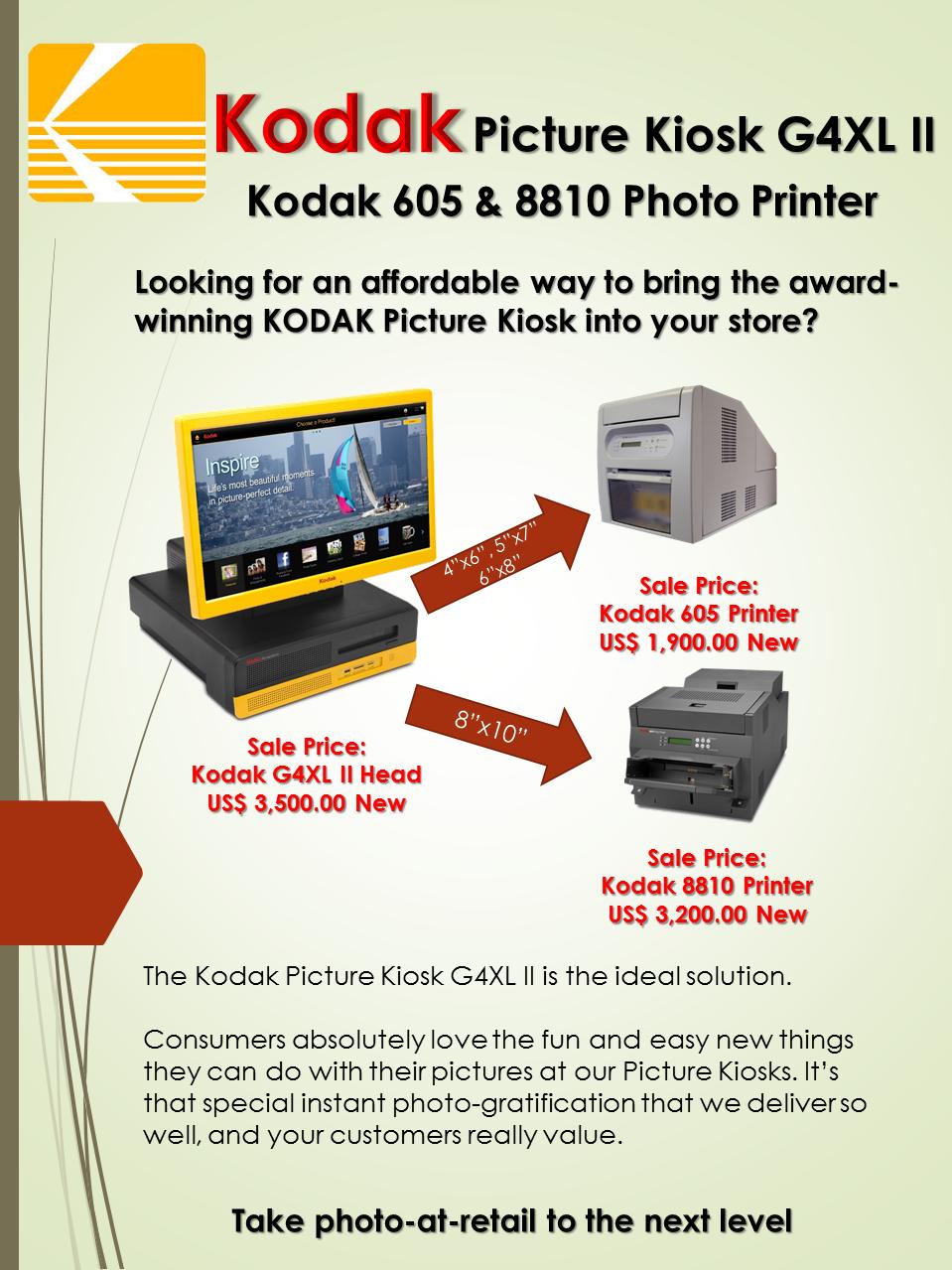 Kodak Picture Kiosk G4XL II