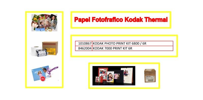 Papel Fotografico Profesional Kodak Thermal