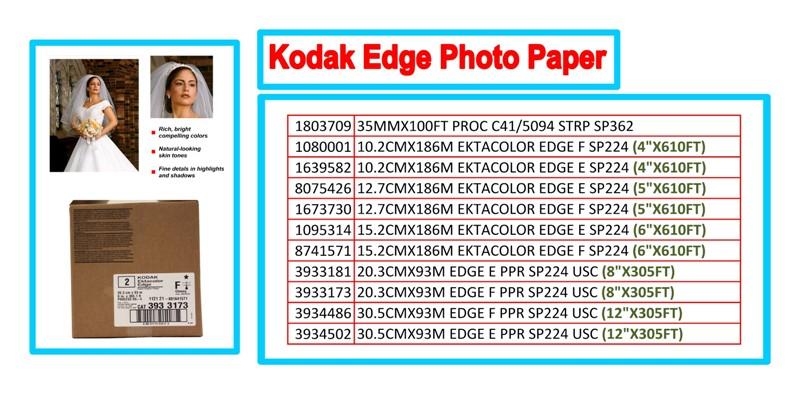 Kodak Edge Paper