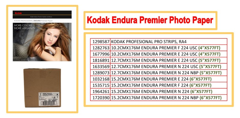 Kodak Professional Photo Paper2