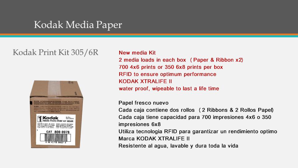 Kodak Media Paper