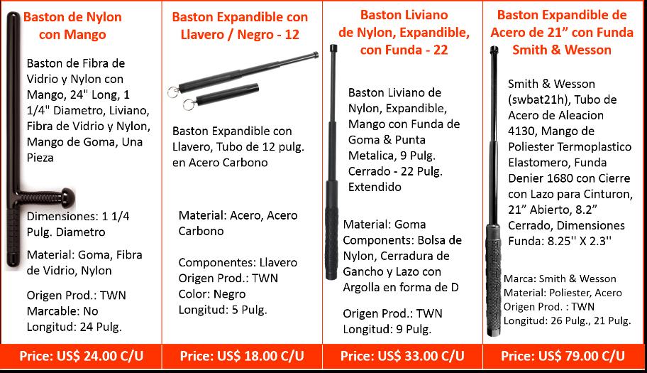Bastones & Bolillos