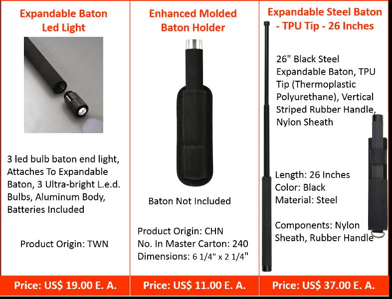 Sticks & Batons